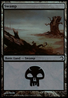 Premium Deck Series: Slivers: Swamp (39)