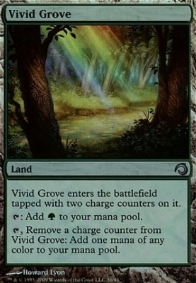 Premium Deck Series: Slivers: Vivid Grove