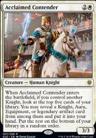 Promo Pack: Acclaimed Contender (Promo Pack)