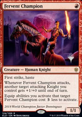 Promo Pack: Fervent Champion (Promo Pack)