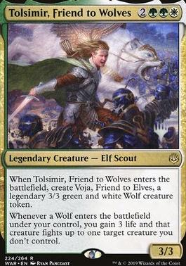 Promo Pack: Tolsimir, Friend to Wolves (Promo Pack)