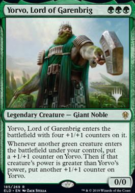 Promo Pack: Yorvo, Lord of Garenbrig (Promo Pack)