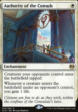 Promo Pack Foil: Authority of the Consuls (Promo Pack)