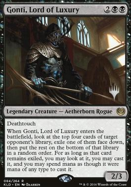 Promo Pack: Gonti, Lord of Luxury (Promo Pack)