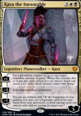 Promo Pack: Kaya the Inexorable (Promo Pack)
