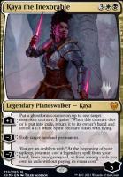 Promo Pack Foil: Kaya the Inexorable (Promo Pack)