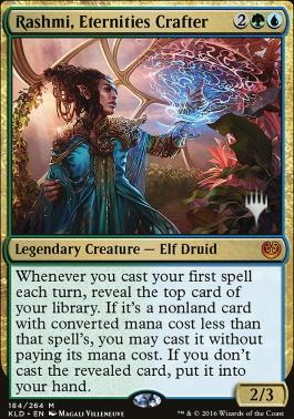 Promo Pack Foil: Rashmi, Eternities Crafter (Promo Pack)