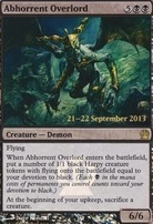 Promotional: Abhorrent Overlord (Prerelease Foil)