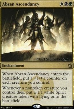 Promotional: Abzan Ascendancy (Prerelease Foil)