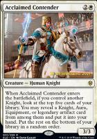 Promotional: Acclaimed Contender (Prerelease Foil)