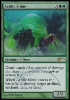 Promotional: Acidic Slime (FNM Foil)