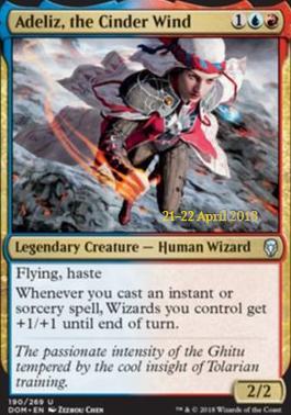 Promotional: Adeliz, the Cinder Wind (Prerelease Foil)