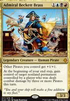 Promotional: Admiral Beckett Brass (Prerelease Foil)