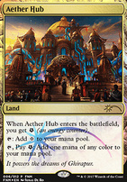 Promotional: Aether Hub (FNM Foil)