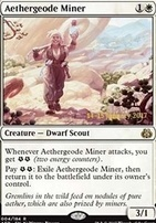 Promotional: Aethergeode Miner (Prerelease Foil)