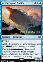 Promotional: Aethersquall Ancient (Prerelease Foil)