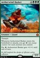 Promotional: Aetherwind Basker (Prerelease Foil)