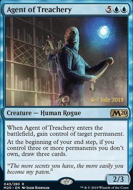 Promotional: Agent of Treachery (Prerelease Foil)