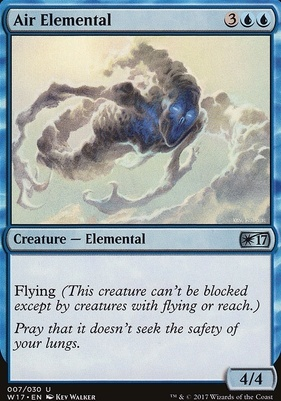 Promotional: Air Elemental (Welcome 2017)