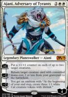 Promotional: Ajani, Adversary of Tyrants (Prerelease Foil)