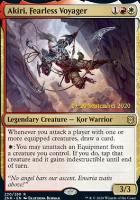 Promotional: Akiri, Fearless Voyager (Prerelease Foil)