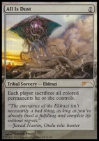 Promotional: All Is Dust (GP Foil)