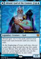 Promotional: Alrund, God of the Cosmos (Prerelease Foil)
