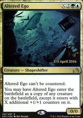 Promotional: Altered Ego (Prerelease Foil)