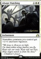 Promotional: Always Watching (Prerelease Foil)