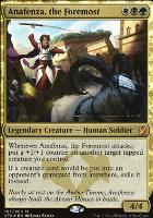 Promotional: Anafenza, the Foremost (Prerelease Foil)