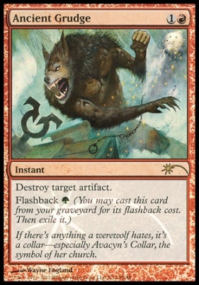 Promotional: Ancient Grudge (FNM Foil)