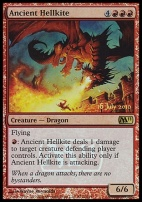Promotional: Ancient Hellkite (Release Foil)