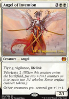 Promotional: Angel of Invention (Prerelease Foil)
