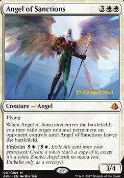 Promotional: Angel of Sanctions (Prerelease Foil)