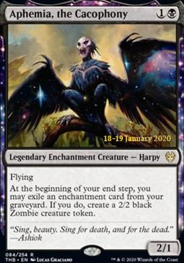 Promotional: Aphemia, the Cacophony (Prerelease Foil)