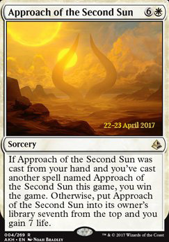 Promotional: Approach of the Second Sun (Prerelease Foil)