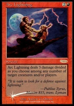 Promotional: Arc Lightning (Arena Foil)