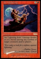 Promotional: Arc Lightning (Arena Foil)