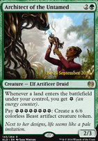 Promotional: Architect of the Untamed (Prerelease Foil)