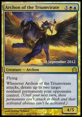 Promotional: Archon of the Triumvirate (Prerelease Foil)