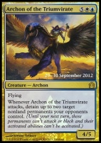 Promotional: Archon of the Triumvirate (Prerelease Foil)