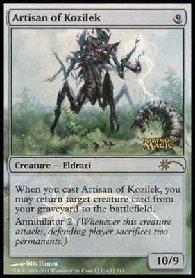 Promotional: Artisan of Kozilek (FNM Foil)