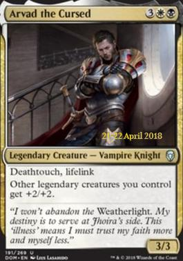 Promotional: Arvad the Cursed (Prerelease Foil)