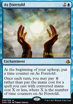 Promotional: As Foretold (Prerelease Foil)