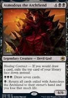 Promotional: Asmodeus the Archfiend (Prerelease Foil)
