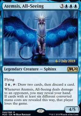 Promotional: Atemsis, All-Seeing (Prerelease Foil)