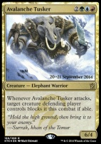 Promotional: Avalanche Tusker (Prerelease Foil)