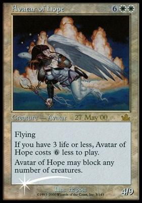 Promotional: Avatar of Hope (Prerelease Foil)