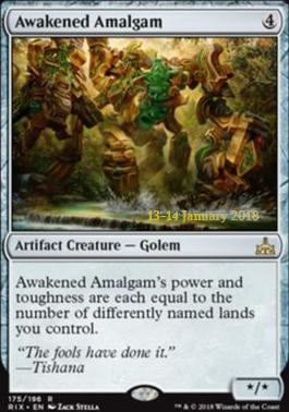 Promotional: Awakened Amalgam (Prerelease Foil)