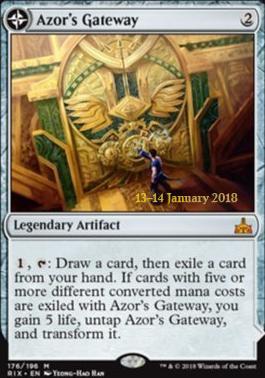 Promotional: Azor's Gateway (Prerelease Foil)